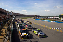 NASCAR  Sprint Cup Series Aarons 499 Apr 26 Stock Photos