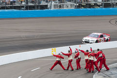 NASCAR 2013:  Sprint Cup Series AdvoCare 500 November 10 Stock Image
