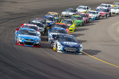 NASCAR 2013:  Sprint Cup Series AdvoCare 500 November 10 Stock Photo