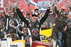 NASCAR Sprint Cup Victory Lane Stock Photography