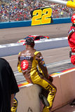 NASCAR Sprint Cup Series at Phoenix. Thousands of fans witnessed one of the closest finishes ever in NASCAR racing history at the Good Sam 500 at Phoenix Royalty Free Stock Images
