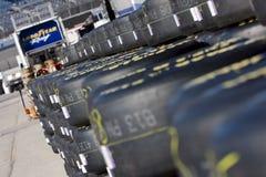 NASCAR  Sprint Cup Series Samsung 500 Apr 2 Stock Images