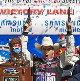 NASCAR  Sprint Cup Series Samsung 500 Apr 5 Stock Photos