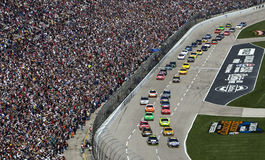 NASCAR Sprint Cup Series Samsung 500 Apr 5 stock image