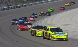 NASCAR  Sprint Cup Series Samsung 500 Apr 5 Royalty Free Stock Photos