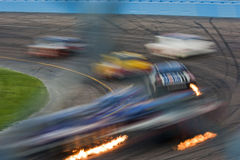NASCAR Sprint Cup Subway Fresh Fit 500 Apr 18 royalty free stock photo