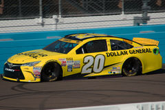 NASCAR Sprint Cup Testing Royalty Free Stock Image
