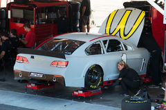 NASCAR Sprint Cup Testing Royalty Free Stock Images