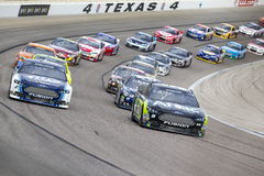 NASCAR 2013:  Sprint-Schalen-Reihe AAA Texas 500 am 3. November Stockbild