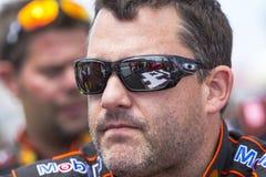 NASCAR 2013 :  Sprint tasse série GoBowling.com 400 4 août Images libres de droits