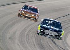 NASCAR 2013:  Sprinta koppserieamerikanska motorförbundet Texas 500 November 03 Royaltyfria Foton