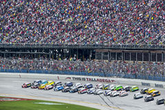 NASCAR 2013:  Sprinta koppserien Aarons 499 MAJ 05 Royaltyfria Foton