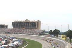 Nascar sprintar Kopp-Atlanta Motor Speedway Arkivfoto