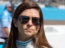 NASCAR sprintar koppen och rikstäckande Danica Patrick Arkivfoton