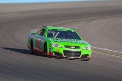 NASCAR 2013: Sprinten Sie Cup Serie Untergrundbahn neues Passsitz 500 1. März Stockbilder