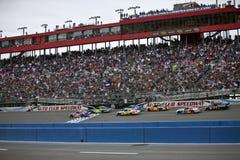 NASCAR: Sprinten Sie Cup-Serien-Selbstklumpen 22. Februar 500 Lizenzfreies Stockbild