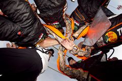 NASCAR: Squadra della squadra di pozzo Immagine Stock Libera da Diritti
