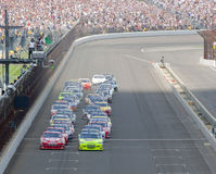 NASCAR:  Start Allstate 400 at the Brickyard Royalty Free Stock Photography