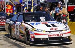 NASCAR - Stewart #14 Mobil 1 pré chemin Photographie stock libre de droits