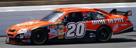 NASCAR - Stewart #20 Home Depot FELDBETT Lizenzfreies Stockfoto