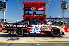 NASCAR - Strada del pozzo di Stewart #14 Office Depot Fotografia Stock Libera da Diritti