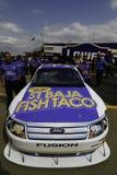 NASCAR - Taco de pescados de Travis Kvapil Baja Imagenes de archivo