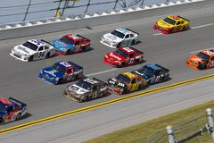 NASCAR: Talladega Superspeedway 3 wide Royalty Free Stock Image