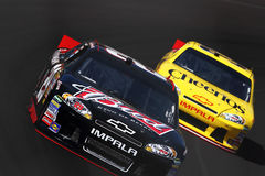 NASCAR Testing Royalty Free Stock Photography