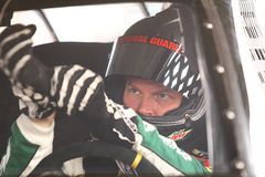 NASCAR Testing - Oct. 4, 2011 Royalty Free Stock Photos