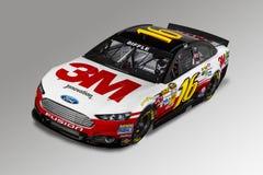 NASCAR: Tiro do estúdio da Pre-Estação do 12 de dezembro de 2013 Imagem de Stock