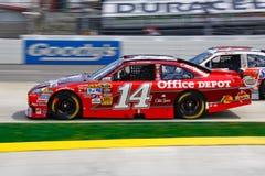 NASCAR Tony Stewart in het #14 Depot Chevy van het Bureau Royalty-vrije Stock Afbeelding