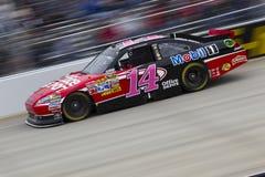 NASCAR: Tony Stewart na trilha em Dôvar imagem de stock
