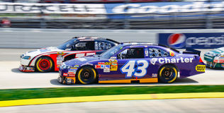 NASCAR Traffic in Martinsville Royalty Free Stock Images