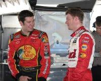 NASCAR Treiber-Dale Earnhardt-jr stockbild