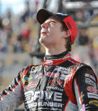 NASCAR Treiber Jeff Gordon im Sieg-Weg Lizenzfreies Stockfoto