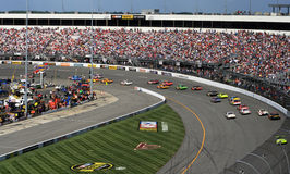NASCAR - Turn 1 in Richmond Royalty Free Stock Image