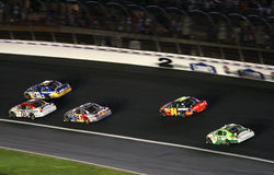 NASCAR - Turn 2 at Lowes Stock Photo