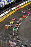 NASCAR - Turn 2 Speed Blur Charlotte Royalty Free Stock Photography