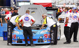 NASCAR - Under the Hood Raw Power Stock Photo
