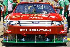 NASCAR - Véhicule célèbre de Ford Aflac d'Edouard images libres de droits