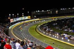 NASCAR - Ventiladores alternadamente 2 Charlotte Fotos de archivo