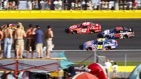 NASCAR - Ventiladores e todas as estrelas de lado a lado Imagens de Stock