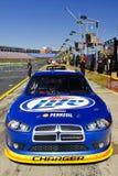 NASCAR - Verticale de véhicule du #2 Miller Lite de Keselowski Image libre de droits
