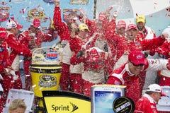 NASCAR Victory Lane au caniveau d'International de Phoenix Photos stock