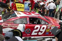 NASCAR Victory Lane en el International Racew de Phoenix Imagen de archivo