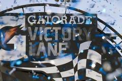 NASCAR Victory Lane in Phoenix, Arizona Stock Images