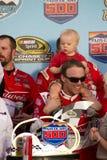 NASCAR Victory Lane at Phoenix International Racew. Kevin Harvick, crew, and family at Victory Lane Stock Photos