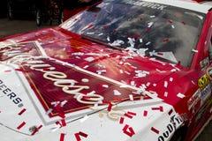 NASCAR Victory Lane at Phoenix International Raceway. Kevin Harvick, crew, and family at Victory Lane Royalty Free Stock Images