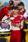 NASCAR Victory Lane in Phoenix Internationale Racew Royalty-vrije Stock Afbeeldingen