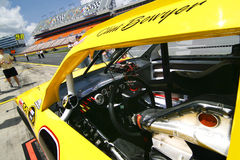 NASCAR - A View of Bowyer's Driver's Seat royalty free stock images